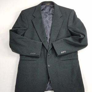 Ron Chereskin Wool Camel Hair Blend Suit Blazer